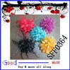 hair clip and pin feather flower