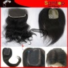 hot sales silk hair closure piece