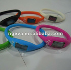 silicone bracelet ion watch - hot