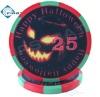 Promotion Halloween Style Poker Chips Ceramic 10g