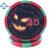 Promotion Halloween Style Poker Chips Ceramic 10g