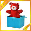 jack in the box/doll box/magic box--funny red bear