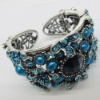 Fashion lady antique bronze crystal inlay bracelet(SW-349)