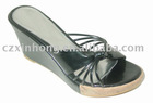 Wedge , fashion slipper , ladies slipper , women slipper , summer slipper , popular slipper