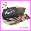 Belt supplier offer polyester colorful canvas belts for men