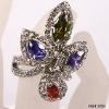 Alloy jewellery diamond ring