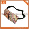 Fashionable multi-functional colorful spiricle waist bag for women