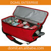 spacious and open 420D polyester 48 Cans cooler bag COO-018