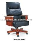 Boss chair MDF armrest wood leg 09A-6A