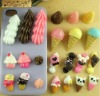 Resin food beads cabochons for DIY decoration