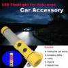 LED flashlight for auto-used