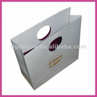 Quantlity OEM printing personalized packing bags with die cut handles