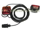 Magnetic Two Rear Lamp Trailer Light Kit For Towing