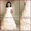 Pretty embroidery Flower Girl Dress FG-031