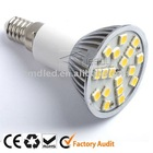 AC85-265V JDR E14 lamp holer 18SMD led ceiling spotlight