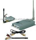 100MW 1.2G Mini Wireless AV Transmitter and Receiver