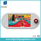 """9"""" LCD battery LCD Ad Player, Video Display, LCD Battery powered shelf edge video player."""