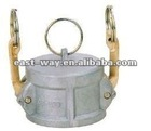 camlock dust cap coupling