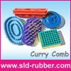 Rubber Curry Brush Set