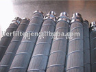 polymer melt filter/pleated filter/sintered fiber felt pleated filter/candle filter