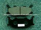 semi-metallic brake pads for motorcycle