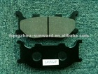 semi-metallic brake pads for motorcycle