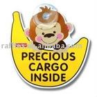 Animal PVC Car Sign