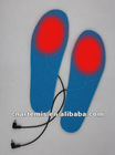 2012 new style electric heated shoes insoles