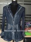 pleated coat