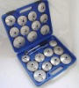 23 PCS CAP TYPE OIL FILTER WRENCH SET