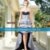 Spaghtti strap short front long back prom dresses 2012 BN2038
