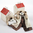 patches plush puppy love in dog house gift box