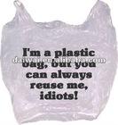 gift plastic bag/plastic packaging/gift bag