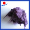 top quality colored recycled staple fiber
