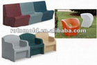 2012 TOP Sale Rotational Durable Comfortable Plastic Chair