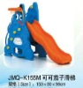 JMQ-K155M Blue kids indoor plastic play slides,plastic molded slides kids,indoor plastic kids slides