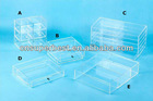 custom acrylic storage box with drawers