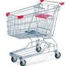 130L Shopping cart-wire base (RHB-125A)