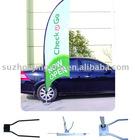 Flying banner for car