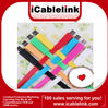 Multi-Color 1M Flat USB Sync Data Charging Charge Cable For iPod iPhone4 4S iPod