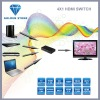 3D Video 4x1 HDMI Switch with Remote Controller
