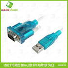 USB 2.0 to RS232 Serial DB9 9 Pin Adapter Cable for PC PDA GPS