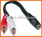 Hotsell all kinds of y adapter audio cable