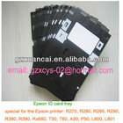 Epson printer ID card tray