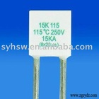 Radial Thermal Cutoff with 15kA Peak Current and 250V Rated Voltage