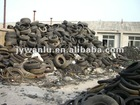 The process of rubber powder production from steel wire tires