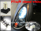 PY24W led bulb turn signal light/can bus error free/for X6 E70 E71 E90 E92