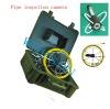 Underground sewer equipment with depth sonde