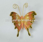 metal christmas butterfly ornaments