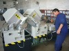 windows machine: Double Mitre Saw for Aluminum and PVC
